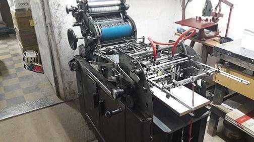 Maquina Multilith Formato Oficio