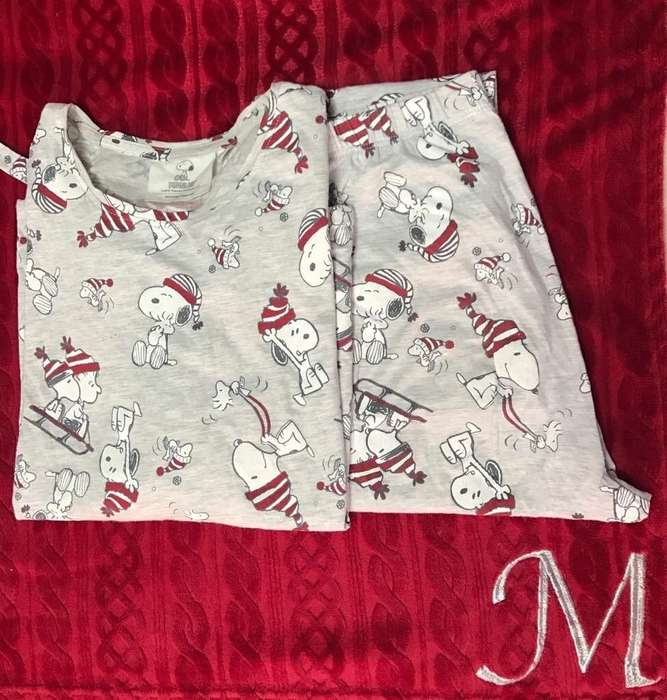 Pijama Snoopy Secret Womens