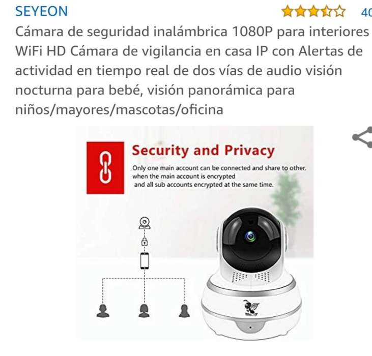 Camara Wifi Jiratoria 360 Audio 1080 Hd
