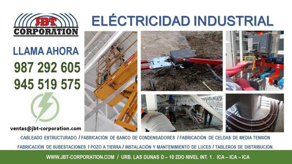Servicio eléctrico industrial