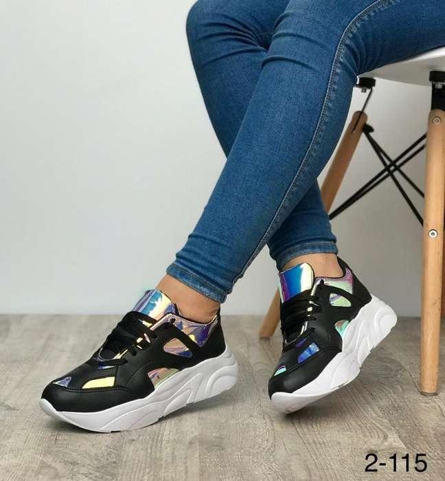 Tenis Sneakers Female Dama