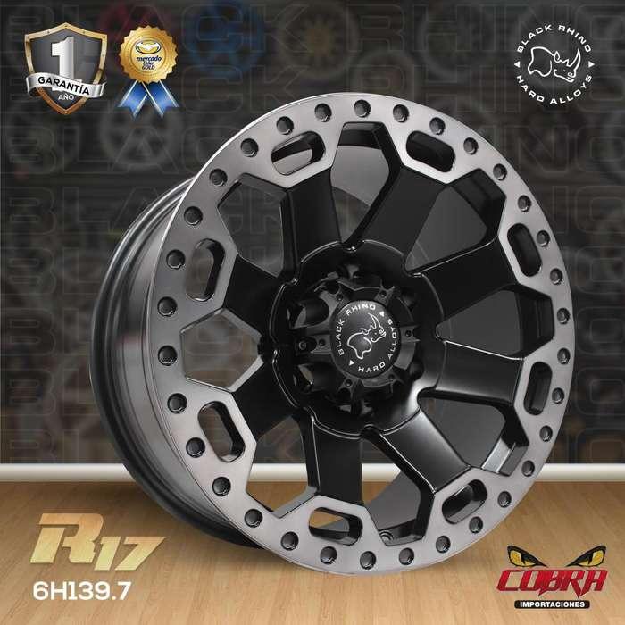 Aros Rin 17 Camionetas Luv Dmax Toyota Hilux Mazda Bt50 e