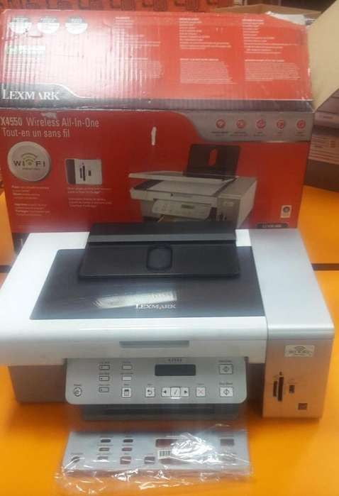 Impresora LEXMARK 4550
