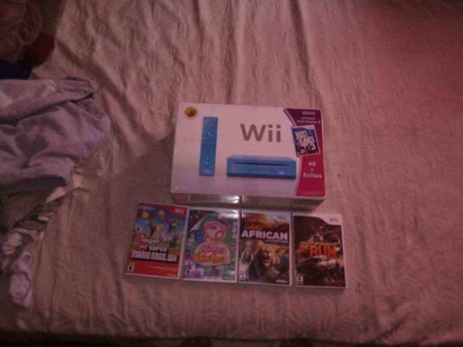 Nintendo Wii Barata 4 Juegos Adicional
