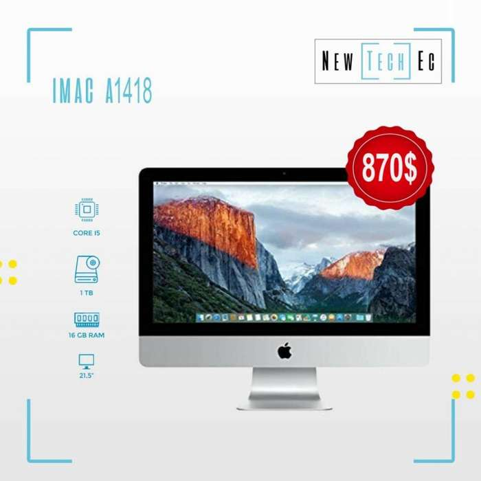 Imac (todo en uno) y Macbook