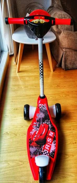 Tri Scooter Disney Cars Rayo Mcqueen