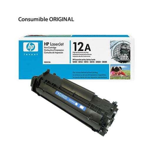 Toner Hp Q2612a Q12 carcaza Original Remanufacturada Imp 1010/20/15