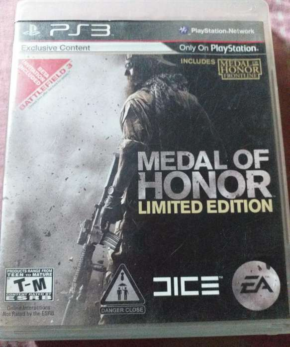 Medal Of Honor Limited Edition para Ps3