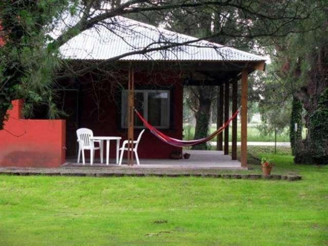 nt76 - Cabaña para 2 a 5 personas con cochera en Tandil