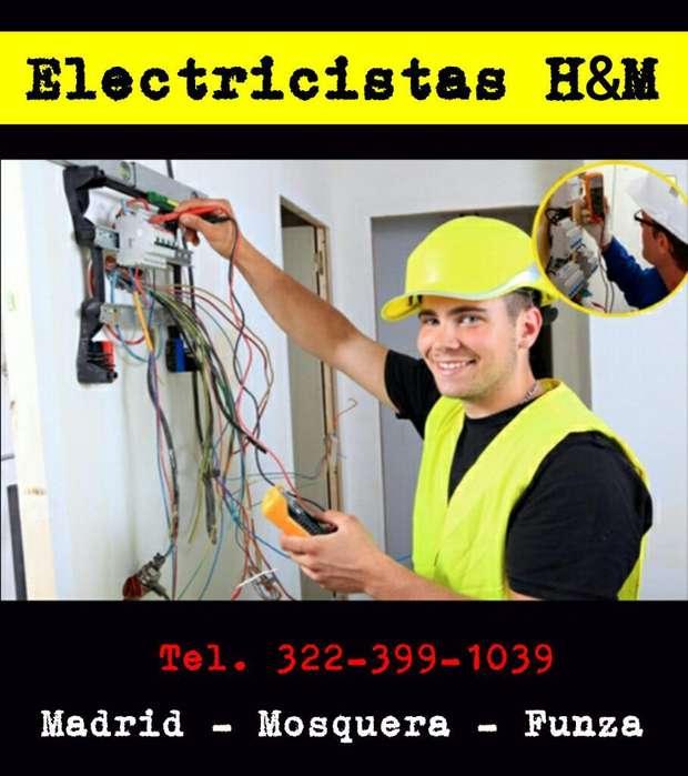 Electricistas en Madrid Cund. Técnicos