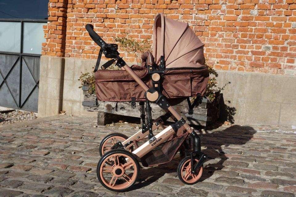 Coche de bebe linea bronce