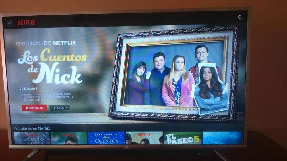 Smart tv JVC 39 pulgadas con barra de sonido 350