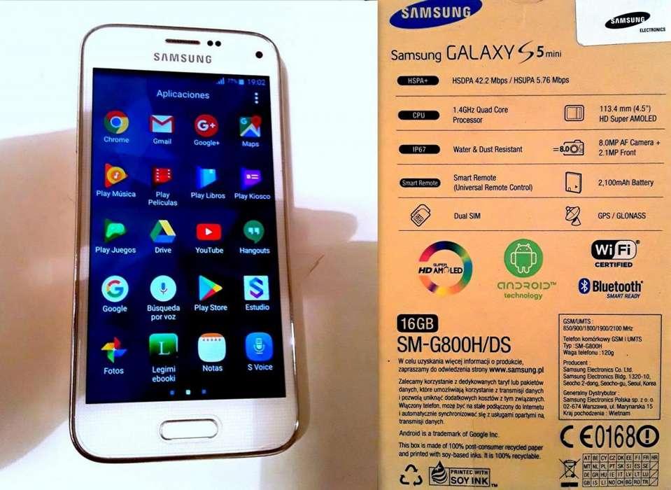 Telefono Celular Samsung Galaxy S5 Mini Dual 16 Gb Liberado Importado Caballito