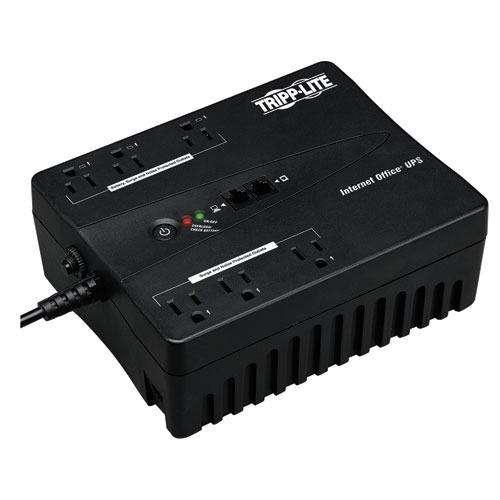 UPS TRIPPLITE INTERNET350U DE 350VA 180W 6 TOMAS 120V RJ11 USB