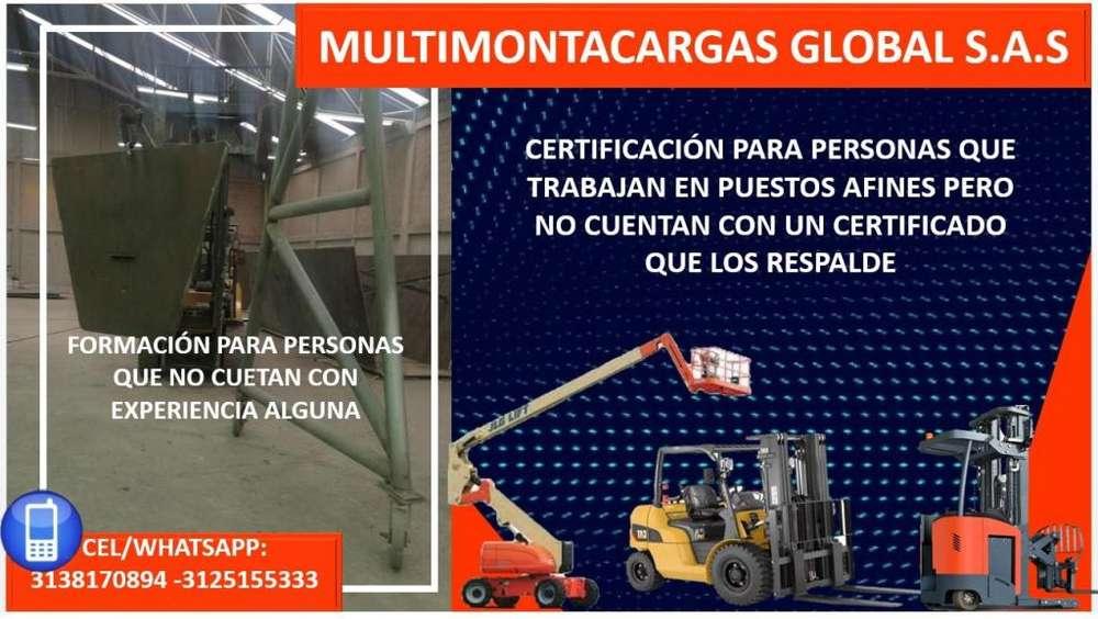 CAPACITACIÓN Y CERTIFICACIÓN DE OPERADORES DE MONTACARGAS
