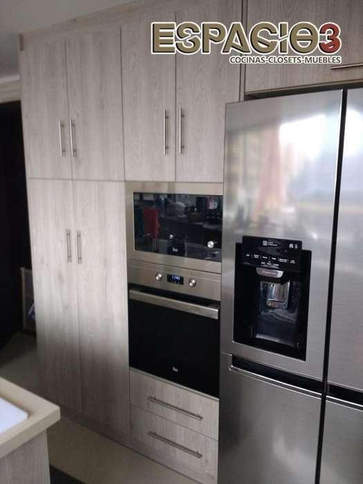 Muebles de Cocina Clósets Baños Modulares
