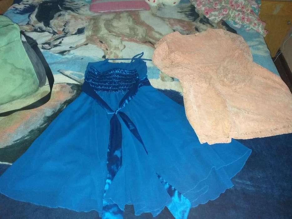 Vestidos de Nena Talle 14 Y Shorts T.12