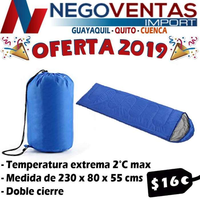 SLEEPING BAG BOLSA DE DORMIR CAMPING