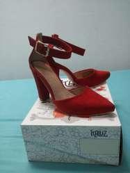 Zapatos Dama Talla 36 Color Ladrillo