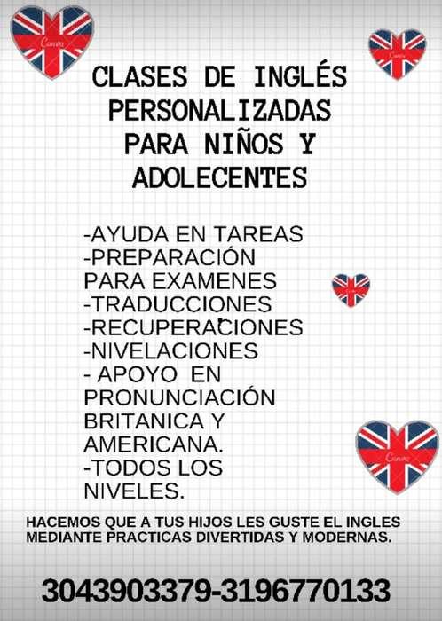 Clases de Ingles Americano/Britanico