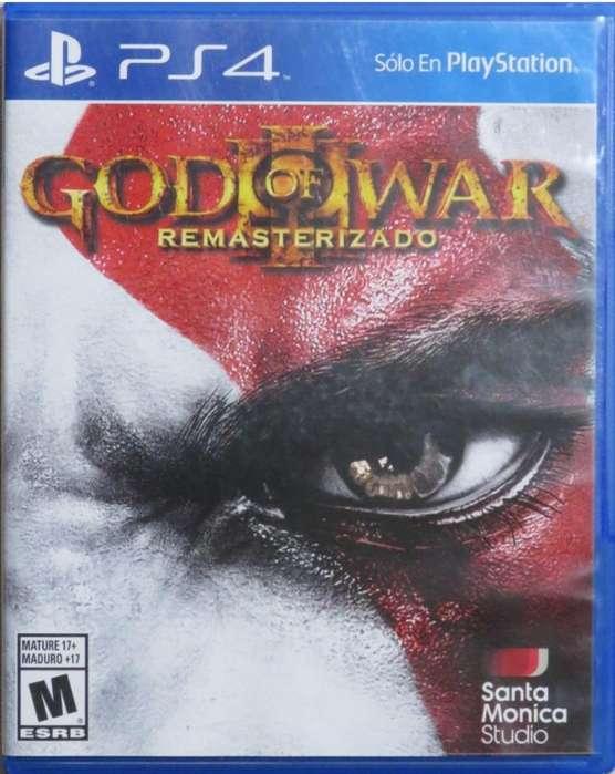 God Of War Remasterizado Nuevo