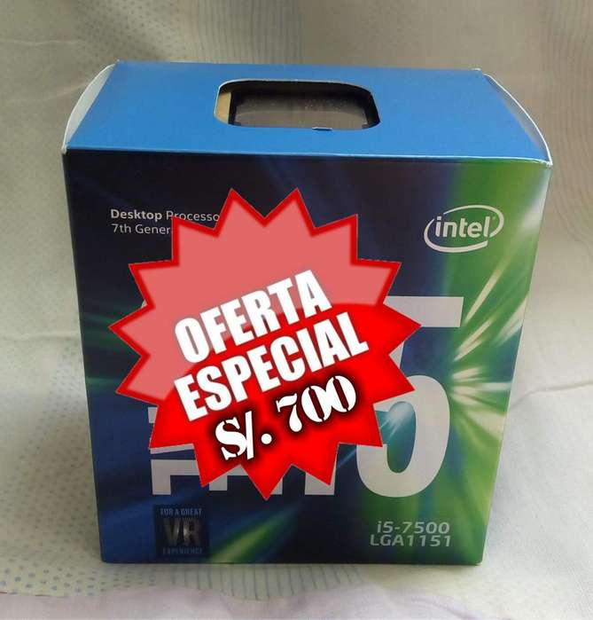 PROCESADOR INT CORE I5-7500 3.40GHZ -