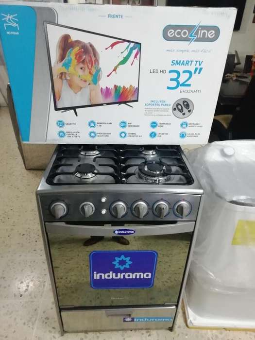 Super Combo Tv Smart Y <strong>cocina</strong> a Gas Nuev