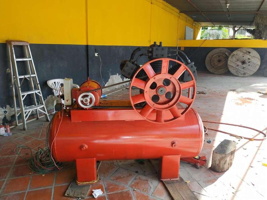 Compresor Industrial 10hp Americano