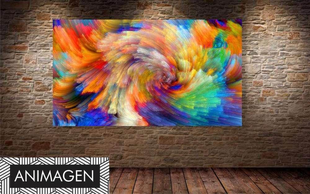 Cuadro decorativo abstracto 4400