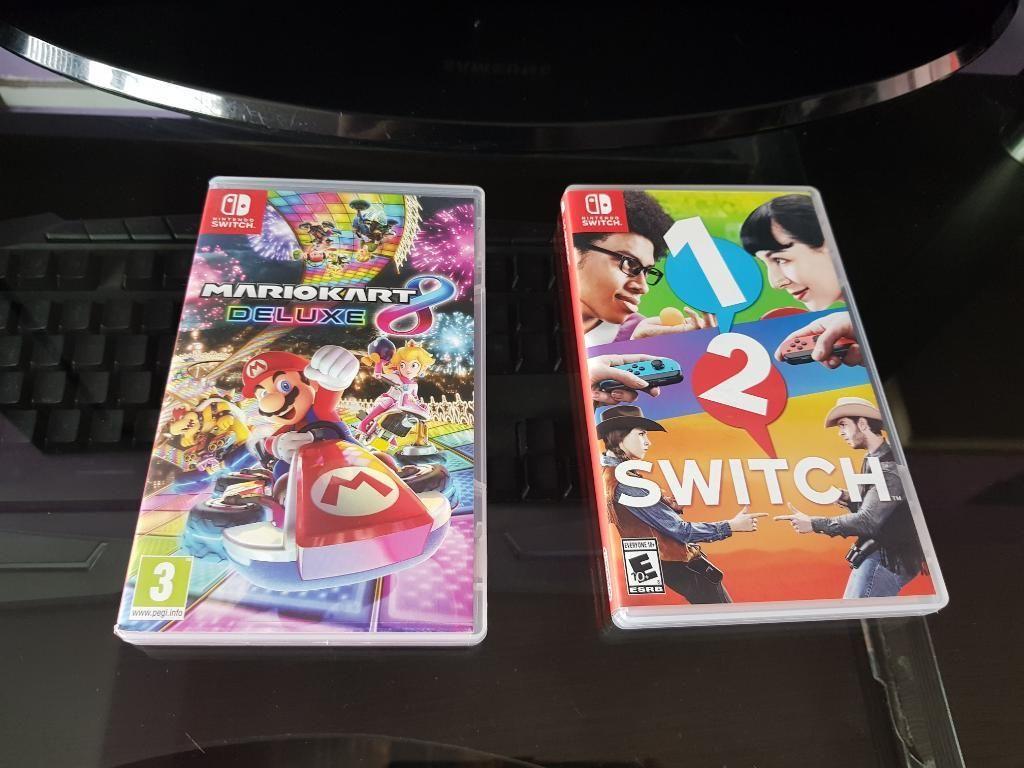 Juegos Nintento Swicth Mario Kart 8/1y2