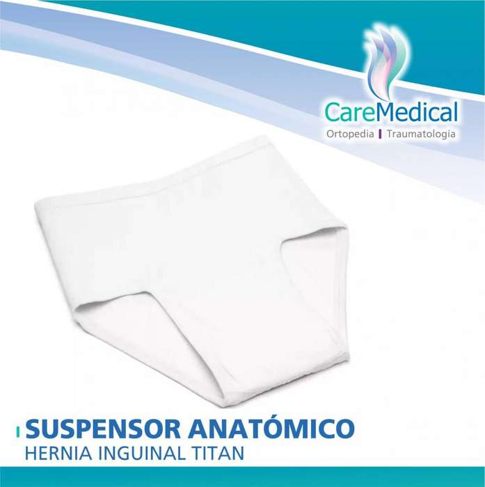 Calzoncillo Suspensor Anatómico Hernia Inguinal TITAN 2-3-4 - Ortopedia Care Medical