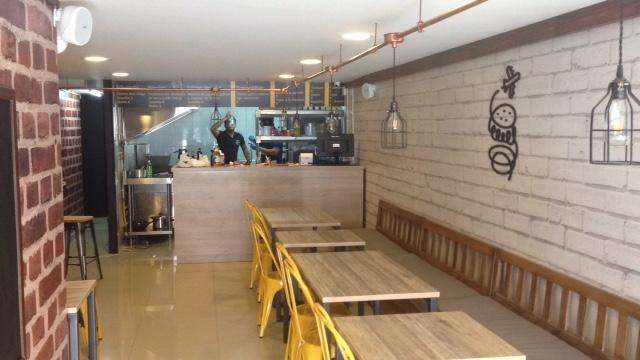 Ganga! Muebles para negocio de comidas