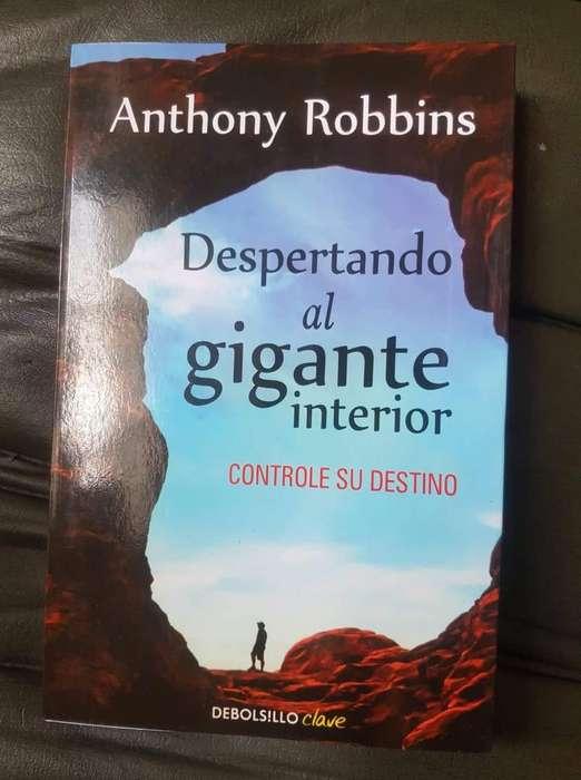 Libro Despertando Al Gigante Interior Anthony Robbins