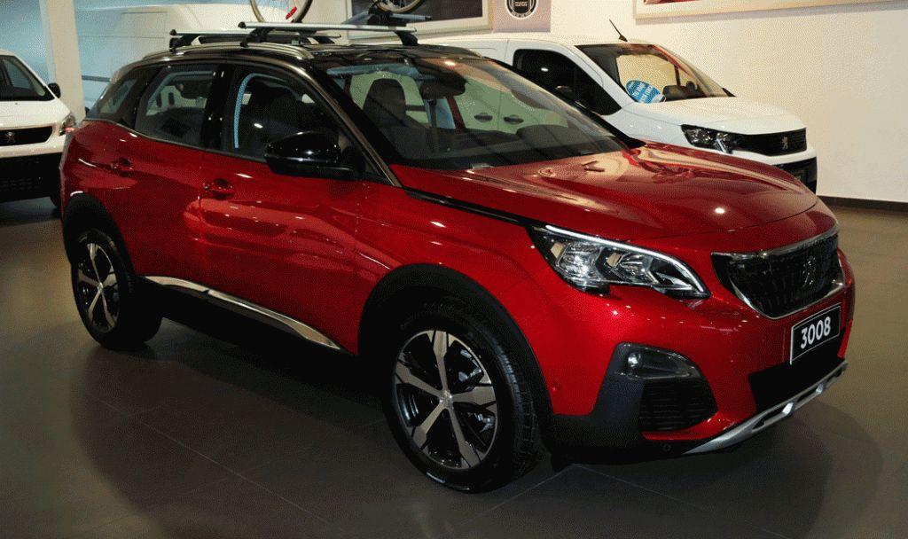 SUV PEUGEOT 3008 - 2019