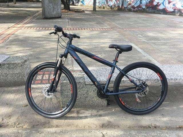 Bicicleta GW Jackal RIN 27.5 SHIMANO 7 VELOCIDADES