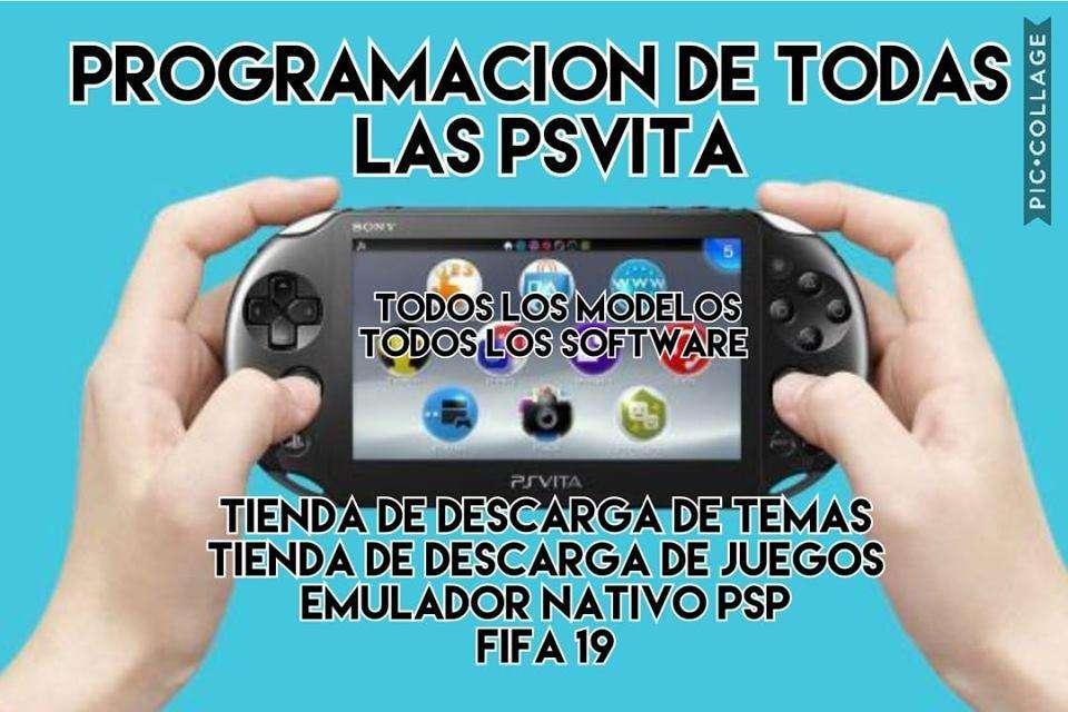 PROGRAMACION DE TODAS LAS VERSIONES DE VITA HASTA 3.72