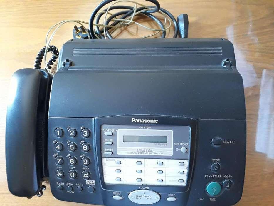 VENDO TELEFONO FAX PANASONIC