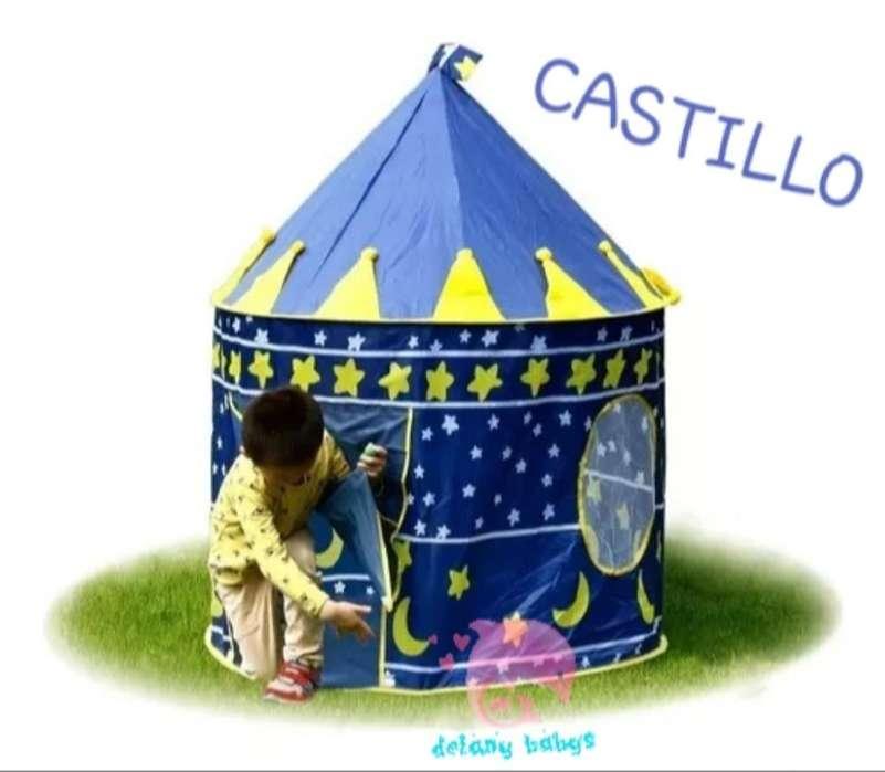Hermoso Castillo Carpa de Juegos