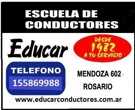 CARNET CONDUCIR ROSARIO , AUTO PARA RENDIR, CLASES PARTICULARES, TRAMITES EN LOS DISTRITOS,