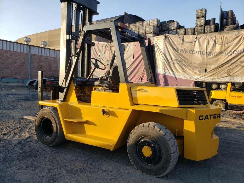 Vendo montacarga Caterpillar Motors perkins 4 cilindros disel economi