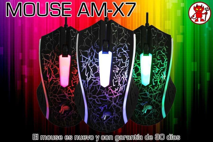 Mouse Gamer Retroiluminado AMX7