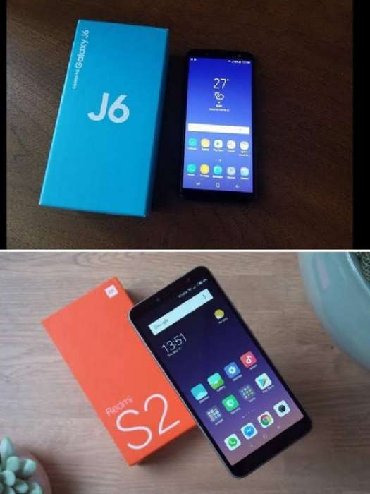 Samsung Galaxy J6 Y Xiaomi Redmi S2