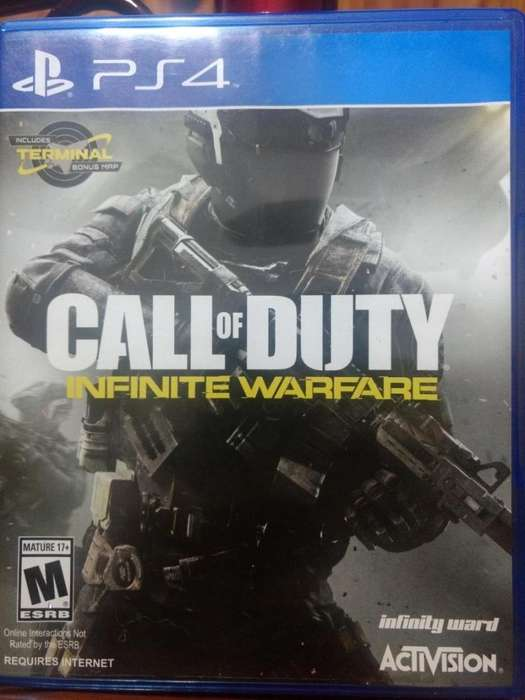 Call Of Duty Infinitive Warfare - PS4