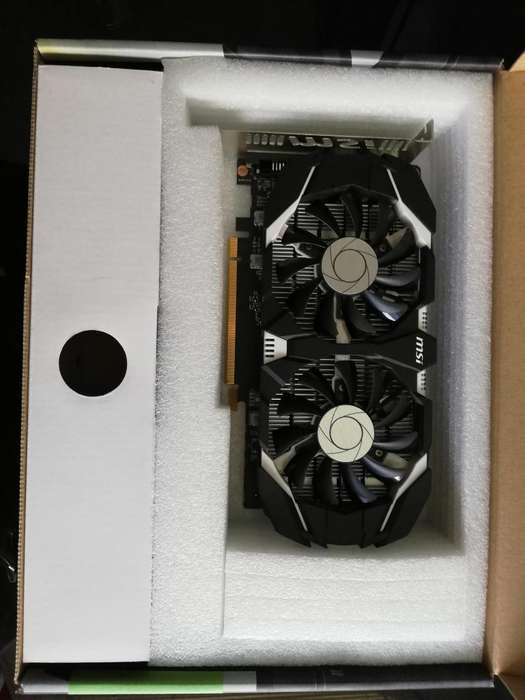 TARJETA DE VIDEO GEFORCE GTX 1050 ti 4GB DDR5 - HUÁNUCO