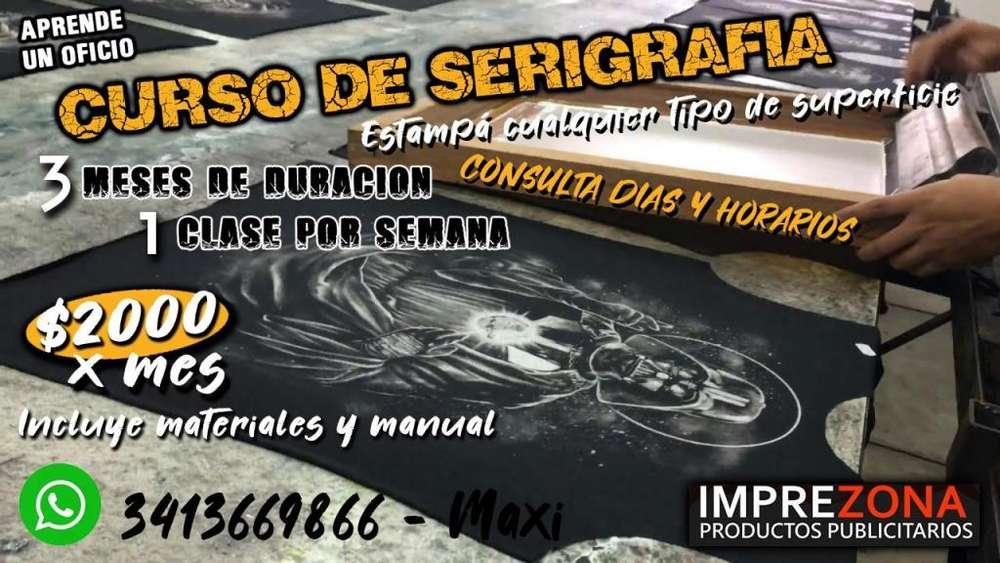 Curso de Serigrafía en Rosario - 3 meses e Intensivo 1día
