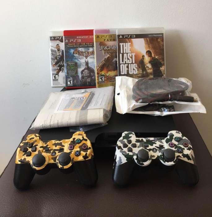 PS3 Slim PlayStation 3 Consola de Videojuegos