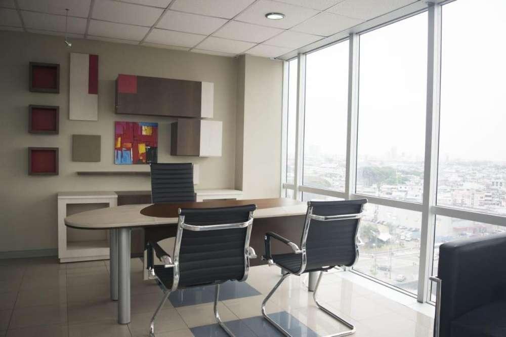 Oficina 47 m Edificio Blue Tower en Alquiler Amoblada
