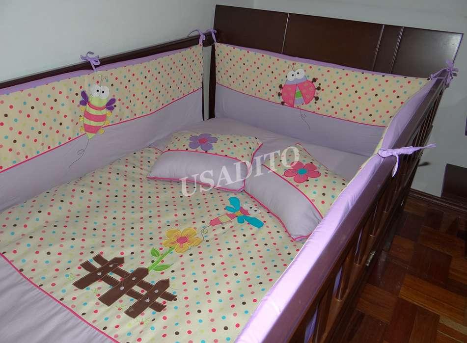 Lenceria para cama cuna 100x190 usado
