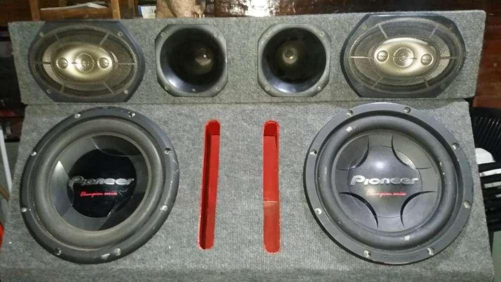 Vendo Equipo de Audio Completo