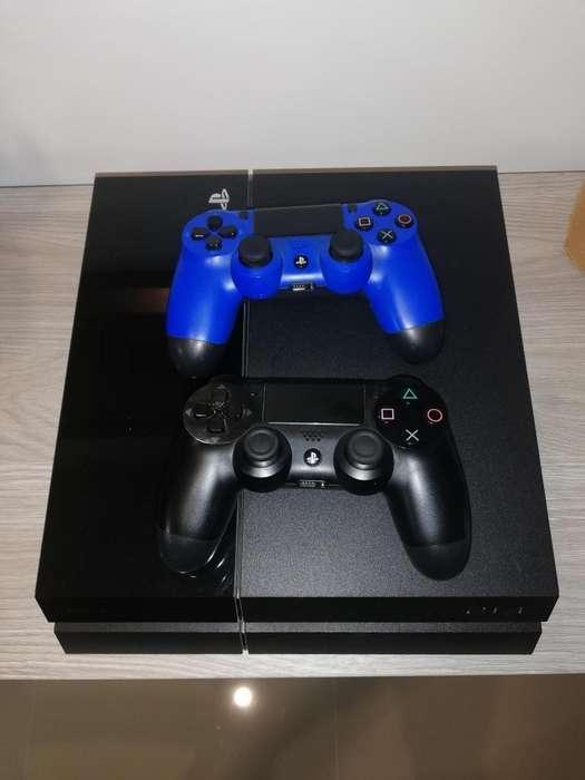 Playstation 4 Usado2 Controlesaudifonos Ps8 Juegos Fisicos 1 Juego Virtual
